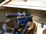LX200 with piggy-backed Lidl scope